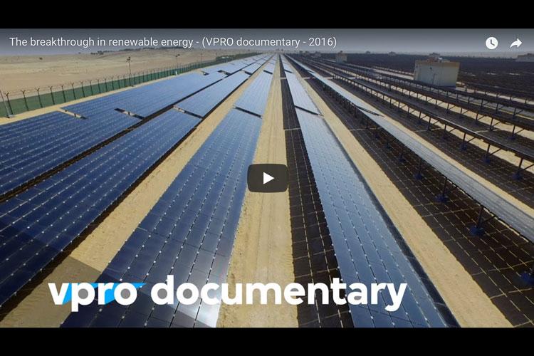 "Dutch TV documentary: ""Breakthrough of renewables"""