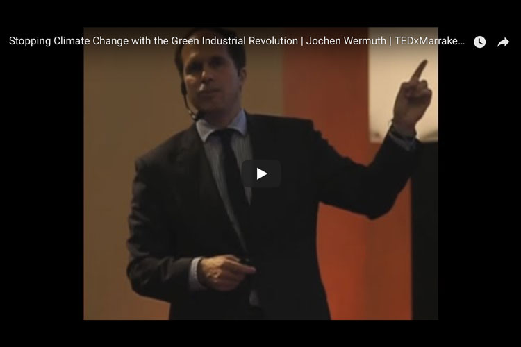 TedX Marakesh Talk on the Green Industrial revolution