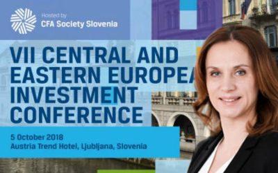 Marina Shestakova will speak at CFA CEE Conference in October on ESG panel