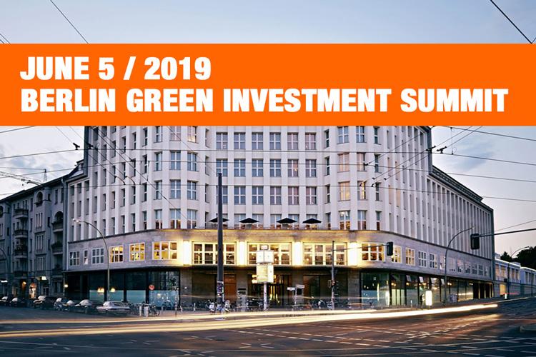 Johan Rockström will speak at Berlin Green Investment Summit 2019
